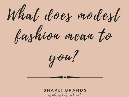 What is modest fashion, exactly?