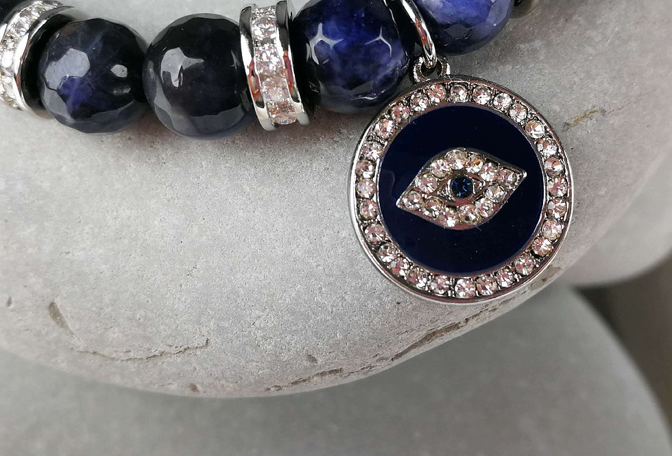 Mystic Blue Lapis Bracelet