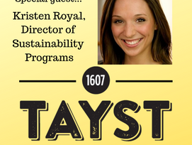Innovation > Waste: Kristen Royal from Tayst Coffee Visits Penn State and Discusses Alternative t