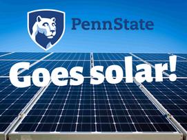 Penn State Announces 70MW Solar Project