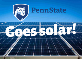 Penn State Announces 70MW Solar Project