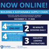 Registration Open! Building a Sustainable Supply Chain Executive Program | December 14 - 17