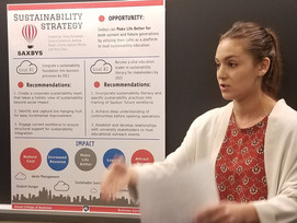 Smeal Students Propose Sustainability Strategy for Industry Partner Saxbys Coffee