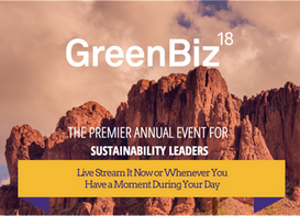 Live Stream GreenBiz Today and Tomorrow: Free Access to Leading Thinkers/Doers