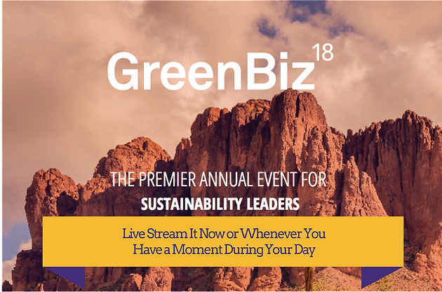 Live Stream GreenBiz Today and Tomorrow: Free Access to