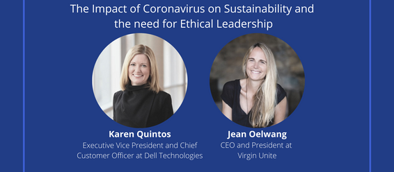 Join us as we continue to explore the impact of coronavirus on sustainable business