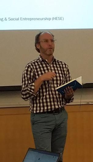 John Gershenson, Director of HESE