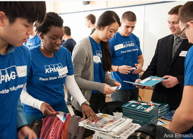 Books for Kids: Today Smeal Students and KPMG deliver books to 132 Elementary Students