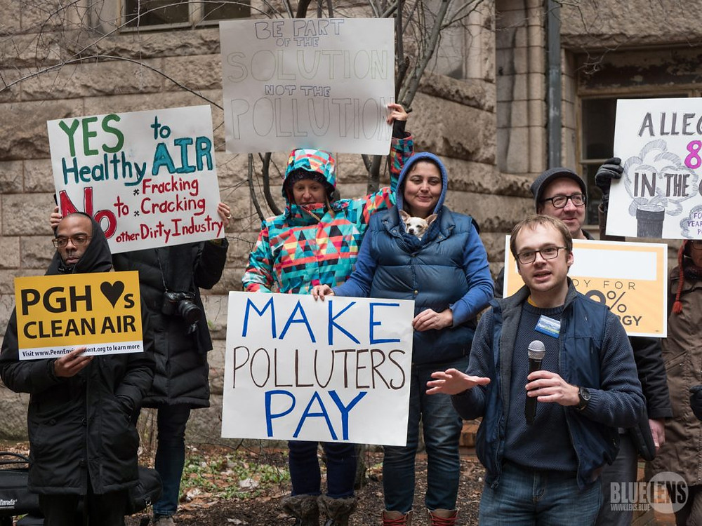 break free from plastics rally sustainability in Pennsylvania