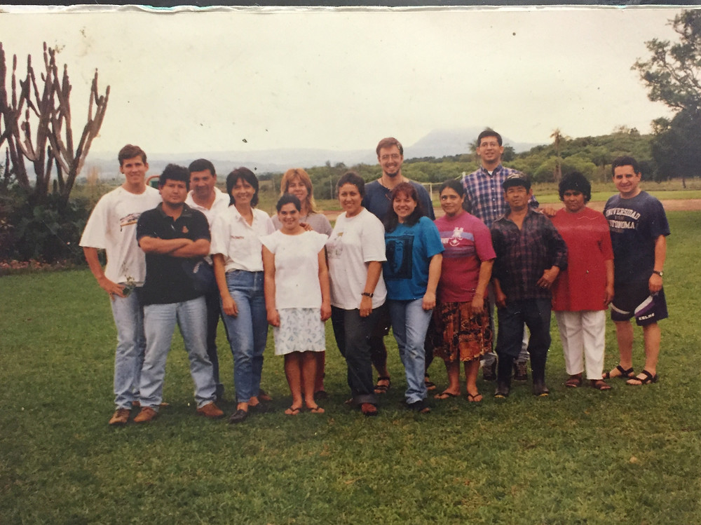 Peace Corps Paraguay circa 1998