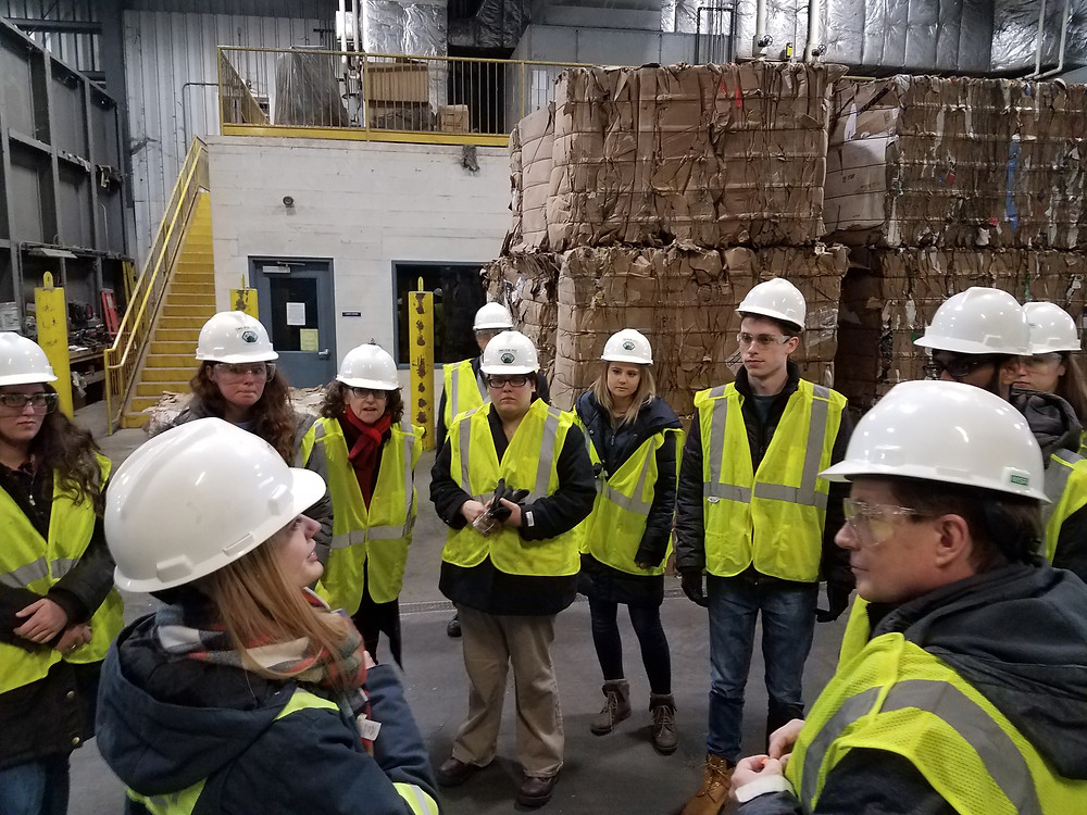 Lycoming Resource Management Tour - Smeal College of Business Net Impact