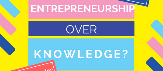 Warning: too much entrepreneurship is not good for you