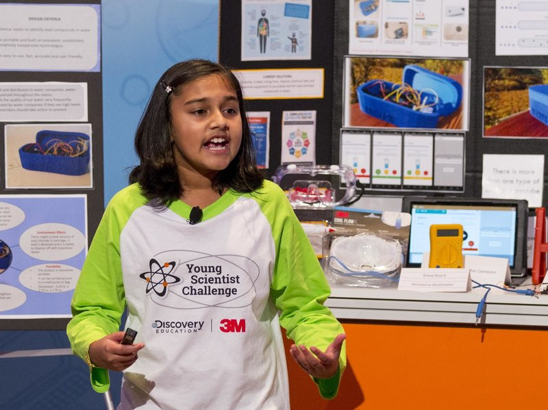 11 year old invents water testing technology for Flint, MI