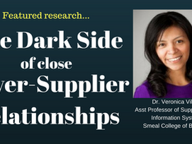 Research Feature: The Dark Side of Close Buyer-Supplier Relationships