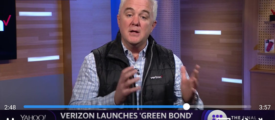 The Weekender:  Smeal Ad Board Member Verizon Becomes First Telecom to Issue Green Bond, $1B to Help