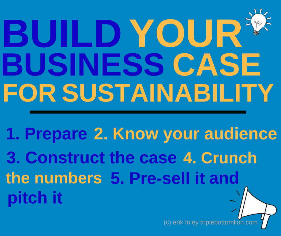Five Steps to Building a Business Case for Sustainability - Penn State University Smeal College of Business