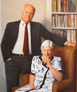 Mary Jean and Frank Smeal whose $10m gift established the Smeal College of Business