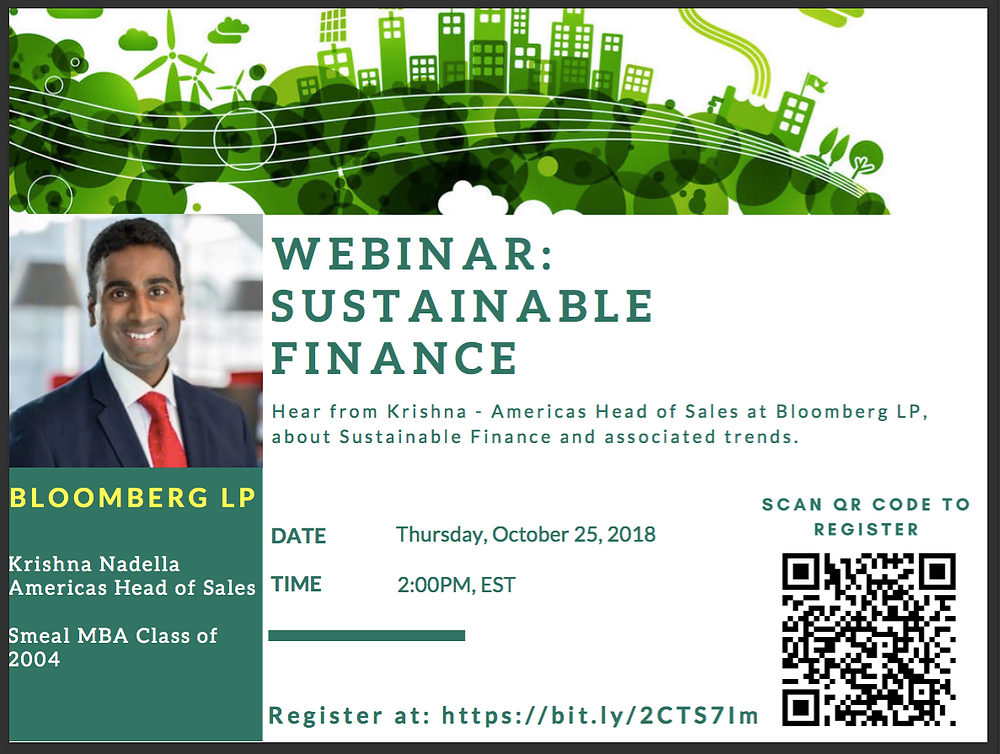 Bloomberg on Sustainable Finance