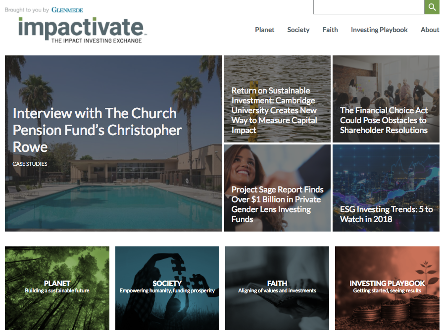 Impactivate from Glenmede