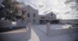 Computer render of proposed new communitybuildin
