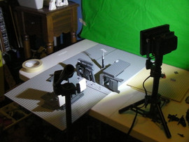 Making of LEGO Fallen Nation: Lights, Camera, Action!