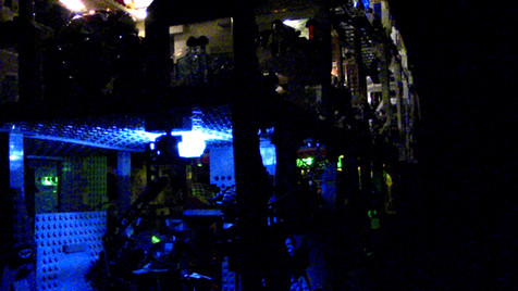 Batcave at Night
