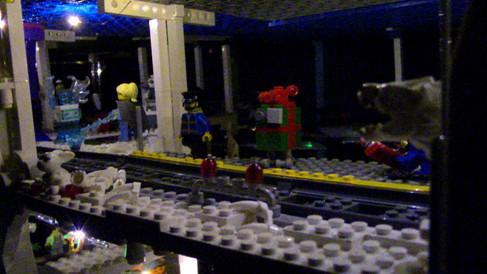 Train Station at Night