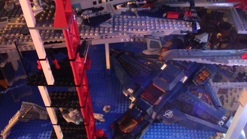 Star Destroyers and Avengers Jet