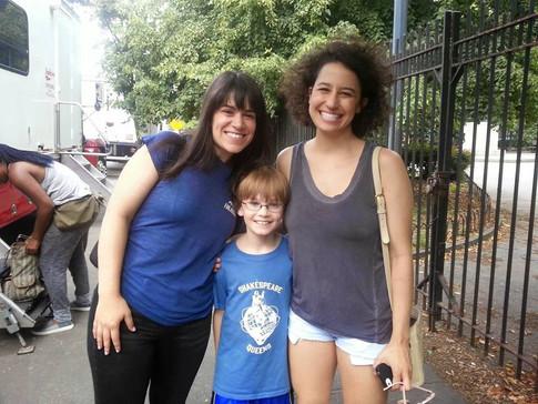 Abbi and Ilana with Grayson