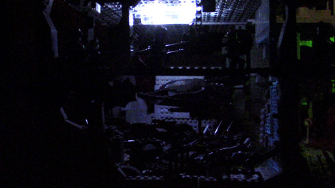 The Batcave at Night