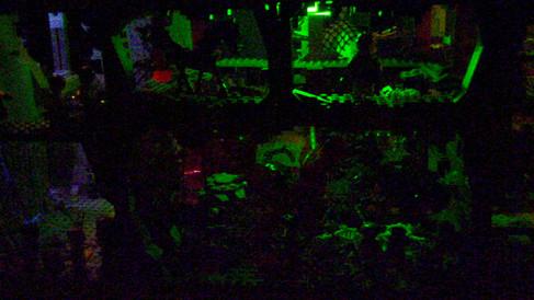 The Crystal Caves at Night