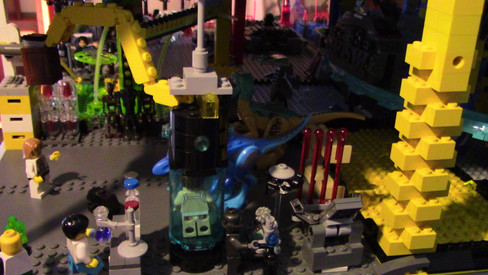 Villains' Base: Labs