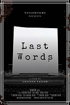 Last Words Poster 2021