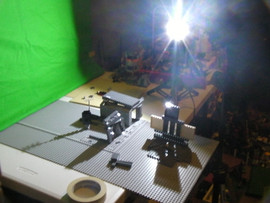 Making of LEGO Fallen Nation: Filming