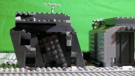 Making of LEGO Fallen Nation: Street Exterior