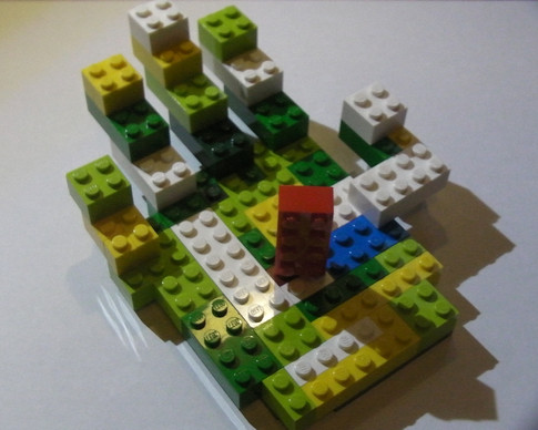 'Creativity' - The LEGO Hand