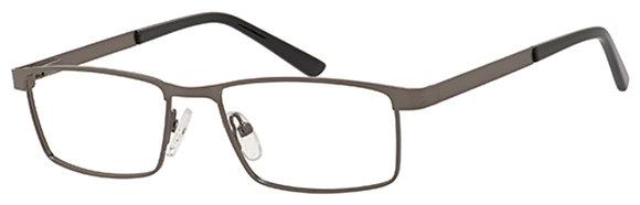 New York Eye Enhance EN4124 Matte Gunmetal 51-16-135