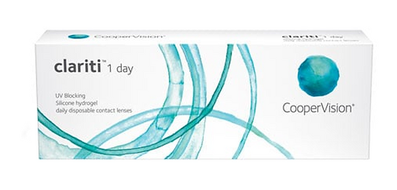 Clariti 1 Day 30 Pack Contact Lenses By CooperVision