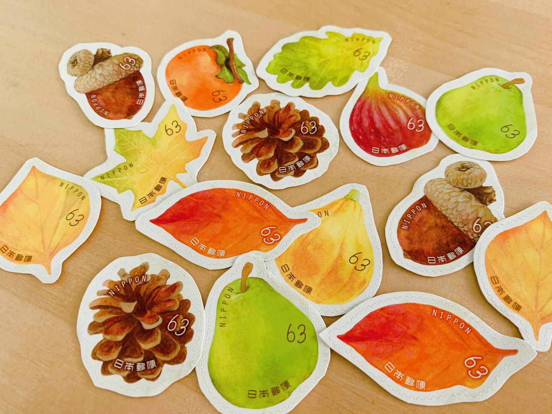 季節の切手