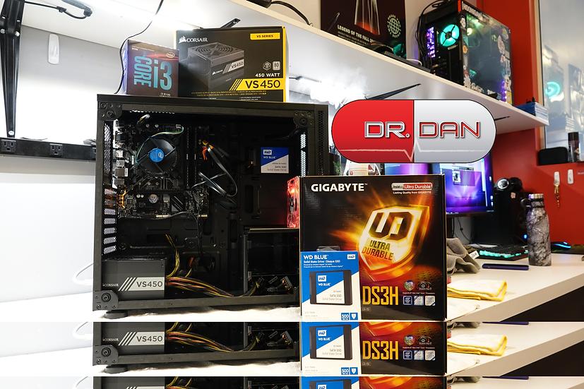 Intel Core i3 Quad Core Office Desktop