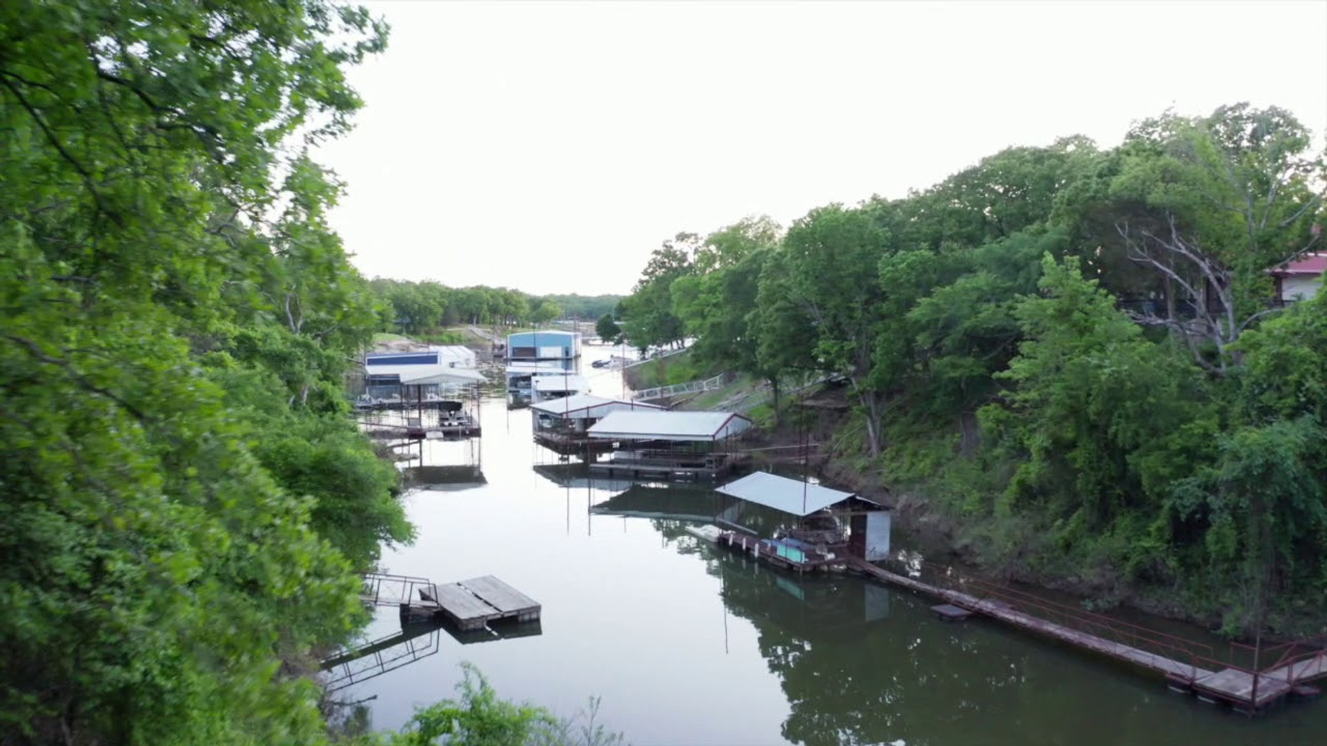 Homebird Studios // Texoma Shores Cabin Drone Footage
