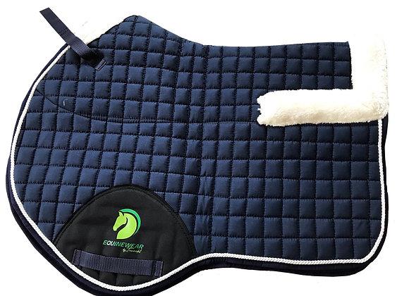 Podsedlová deka s beránkem, korekční deka na koně