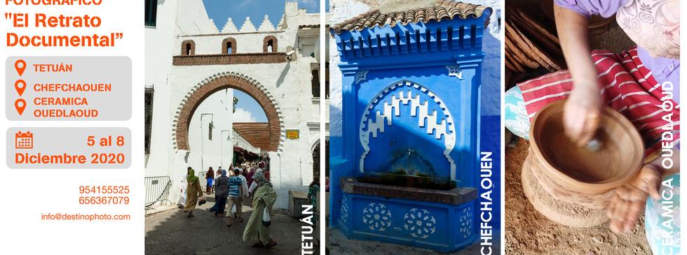 Tres destinos, Tetuan-Chefchaouen-Ceramica OuedLaoud