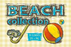 Beach Illustration Collection