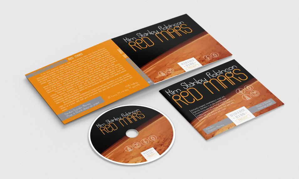 Стандартный диджипак для продажи аудиокниг на носителях