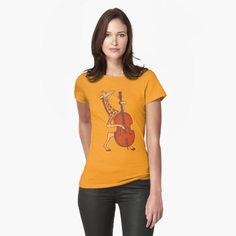 Giraffe bass player