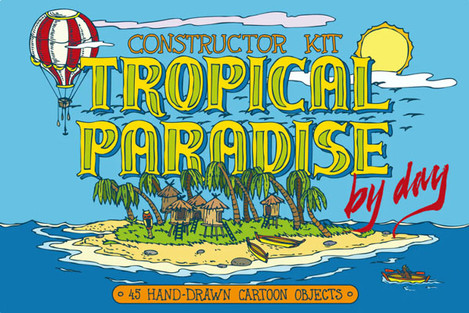 Tropical Paradise Constructor Kit