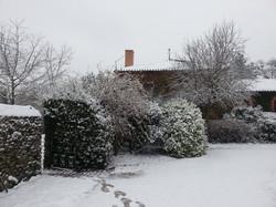 La Marionnière sous la neige