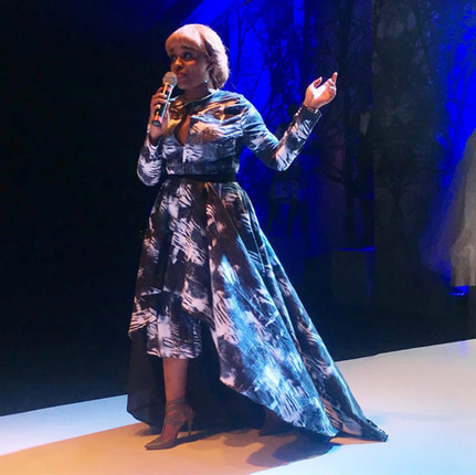 As seen on TV personality Hauwa Wakili