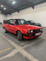 1992 BMW 318I, E30, Convertible